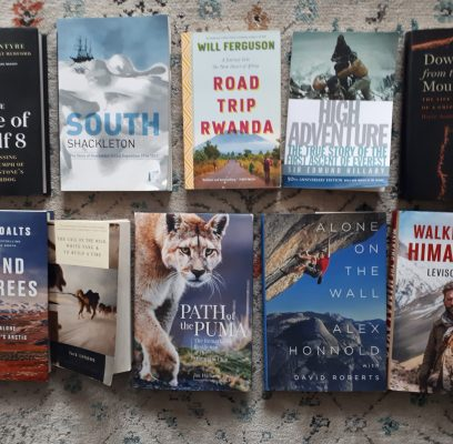 Ten Outdoor Books that Inspire