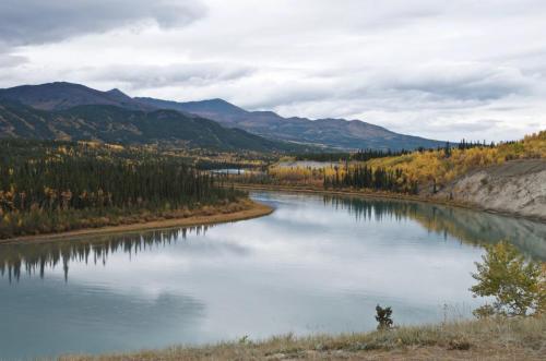 Takhini River north of Whitehorse, Yukon