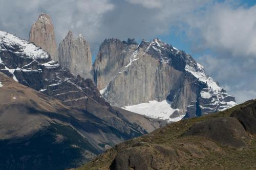 The famous towers of Torres Del Paine, Chile