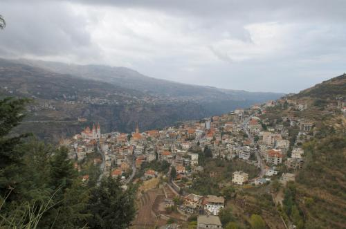 The Khadisha Valley in northern Lebanon